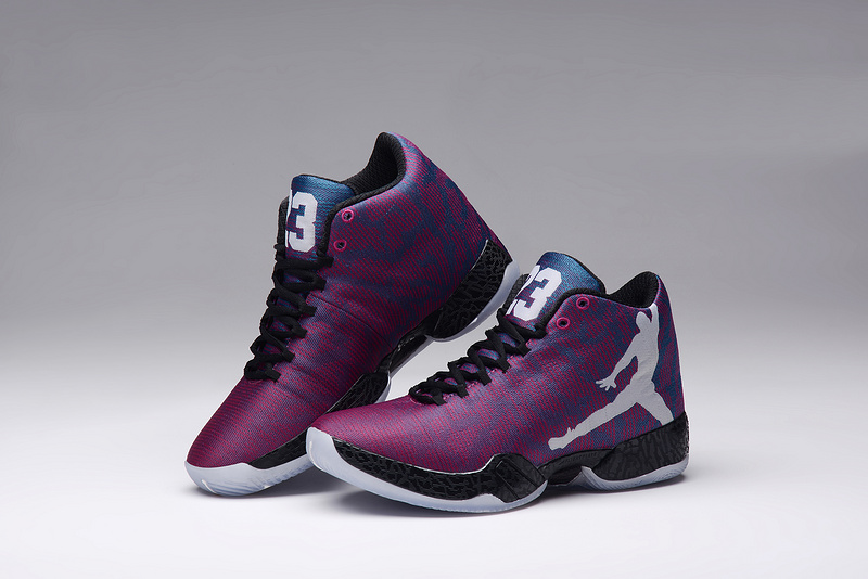 2015 Jordan 29 Purple Black Lovers