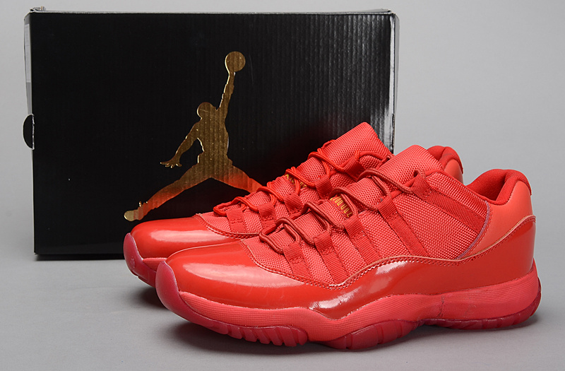 2015 Air Jordan 11 Retro All Red