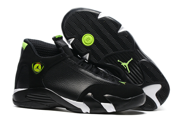Classic Air Jordan 14 All Black Shoes On Sale