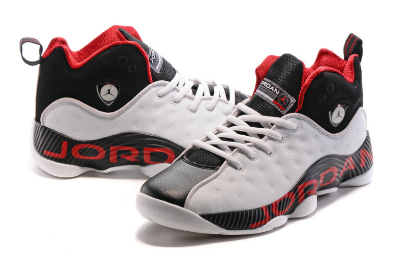 ClassicAir Jordan Jumpman Team II3 White Red Grey Black Shoes