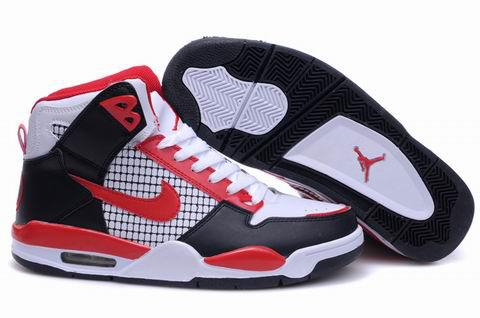 New High Heel 2012 Air Jordan 4 Black White Red Shoes