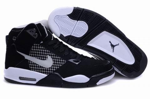New High Heel 2012 Air Jordan 4 Black White Shoes