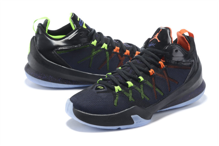 Jordan Chris Paul 8 Playoffs Shoes Black
