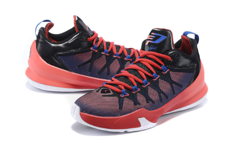 Jordan Chris Paul 8 Playoffs Shoes Red Black Blue