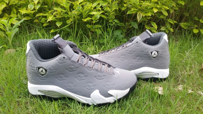 New Air Jordan 14 Orego Grey Shoes For Sale