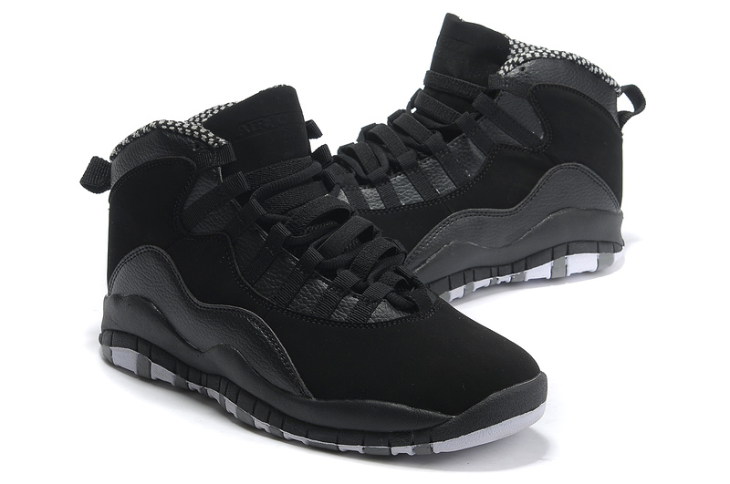New Air Jordan 10 Shoes All Black