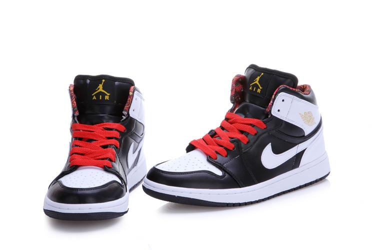2015 New Jordan 1 Black White Red