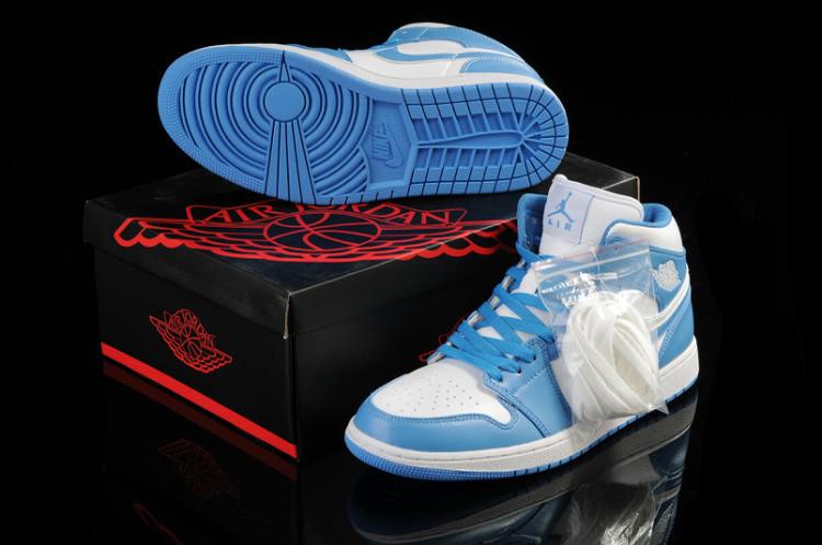 2015 New Jordan 1 Light Blue White