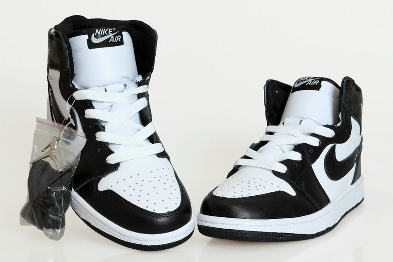 2015 New Air Jordan 1 Black White