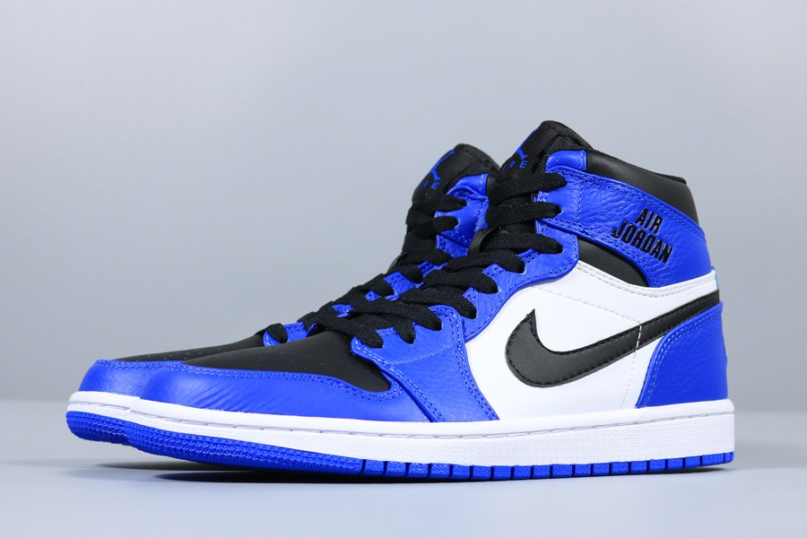New Air Jordan 1 Retro High Soar Blue Black White