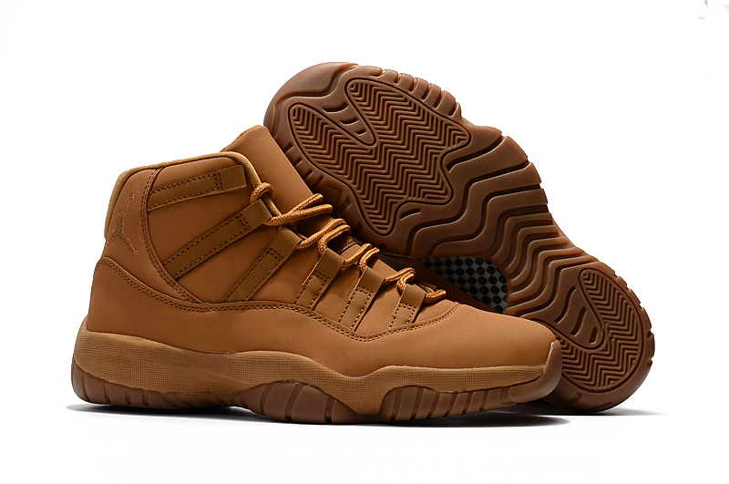 New Air Jordan 11 Wheat Mens Basketball Shoes