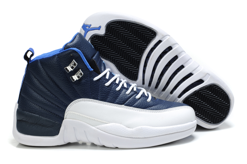 Air Jordan 12 Blue White