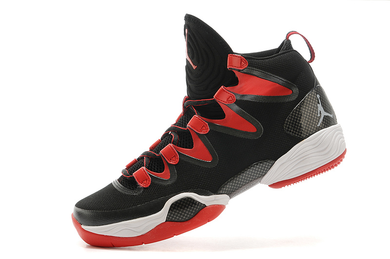 2015 Air Jordan 28 Black Red White Shoes