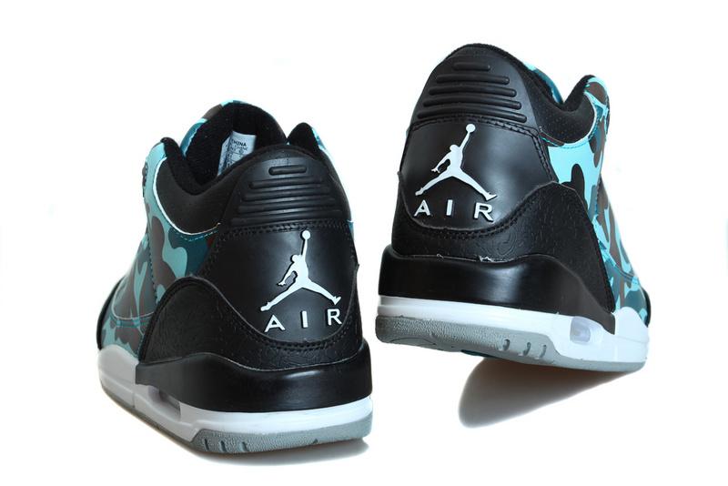 2015 New Jordan 3 Hero Warrior Blue Black