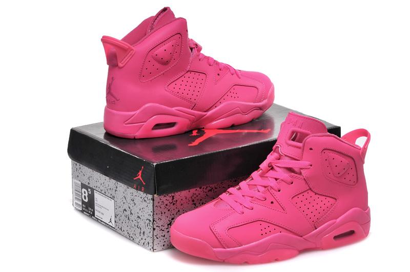 2015 New Jordan 4 Full Pink For Women