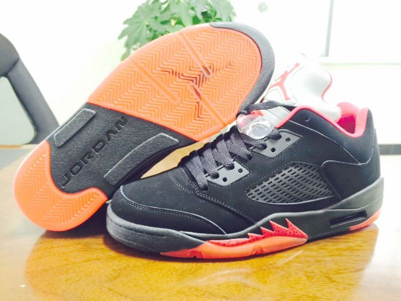 9f4f4736181 ... discount 2015 air jordan 5 low dunk from above black 74bea fd10f