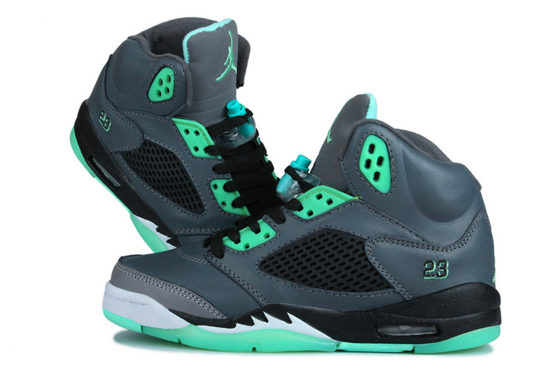 2015 New Air Jordan 5 Grass Green