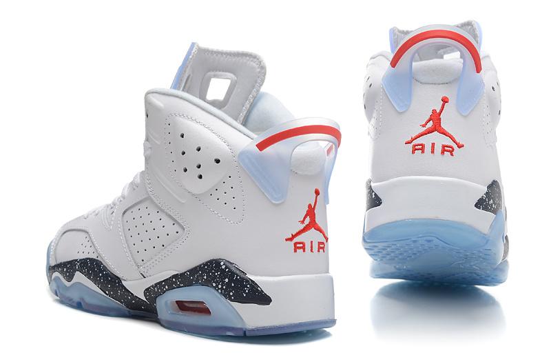 2015 New Jordan 6 White Black Baby Blue