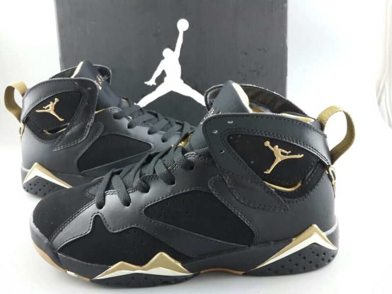 jordan black and gold shoes