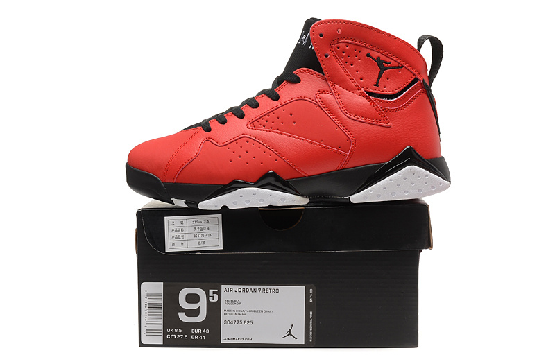 2015 New Air Jordan 7 Red Black