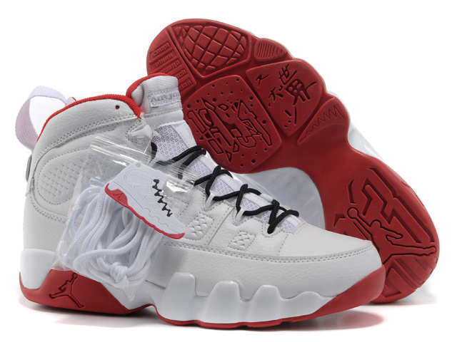 2015 New Air Jordan 9 White Black