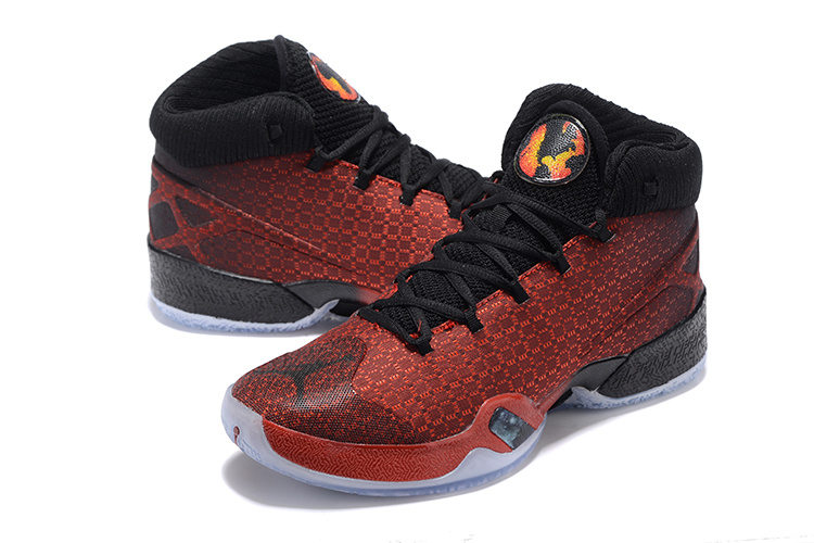 2016 Air Jordan XIII Red Black Shoes