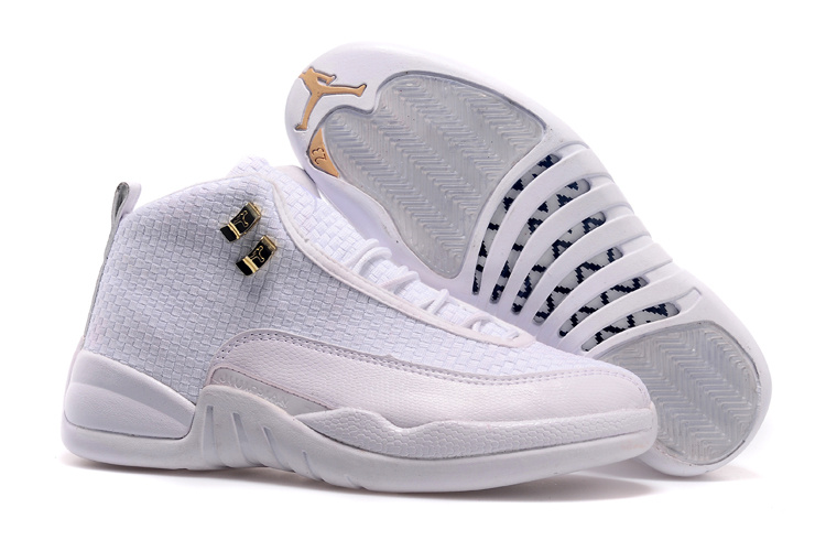 All White Jordan 12 Future Shoes