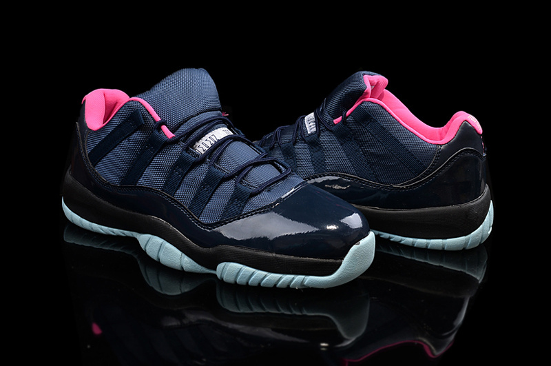 2015 Air Jordan 11 Shoes Black Pink