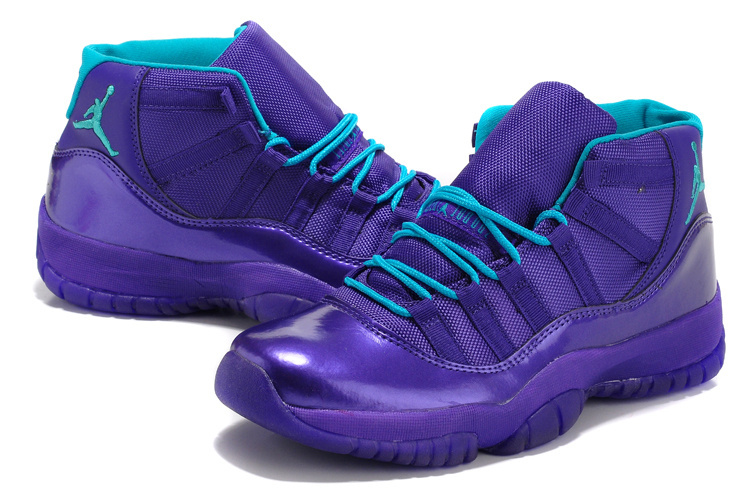 Air Jordan 11 Retro Purple Shoes