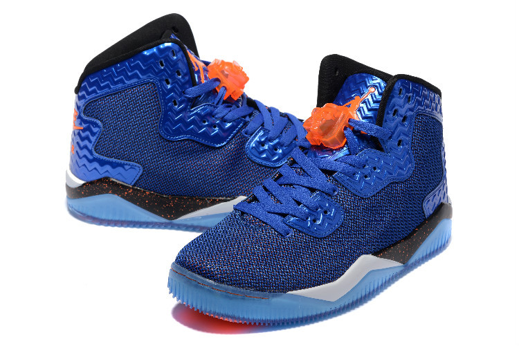 New Jordan Spizike 2 Blue Orange Shoes