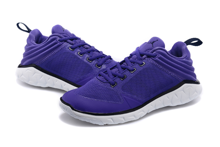 2015 Women Air Jordan Running Shoes Purple White