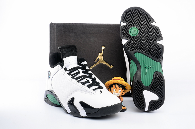 Newly Classic Air Jordan 14 Oxidized Green Shoes For Sale