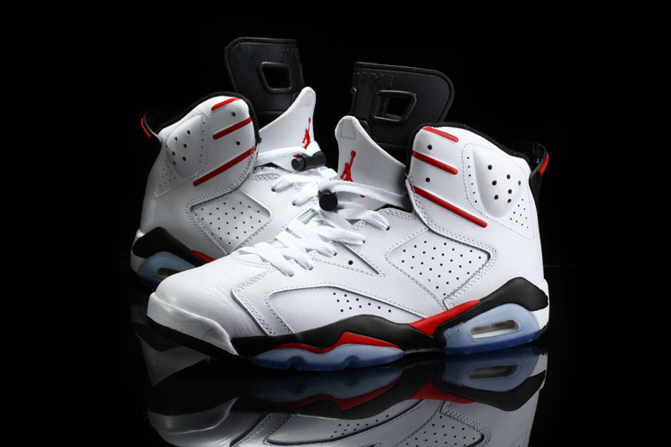 2015 Jordan 6 Retro White Red Black