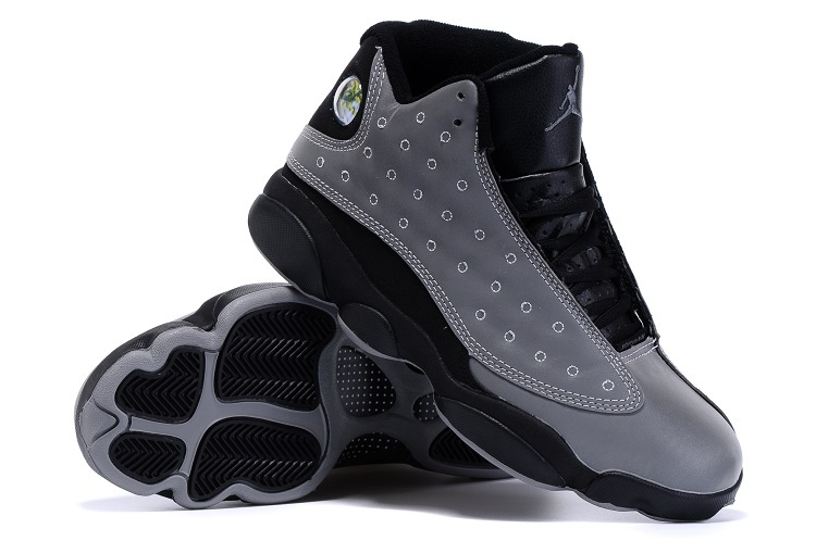 New Air Jordan 13 Doernbeacher Shoes Grey Black