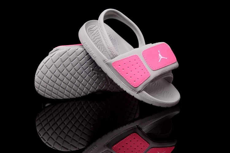 Air Jordan Hydro Pink Grey For Kids