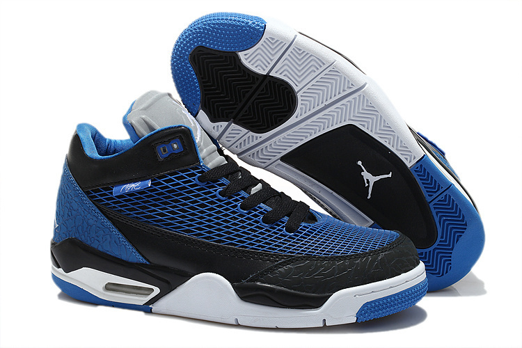 Air Jordan Flight Club 80S Dark Blue Black Shoes
