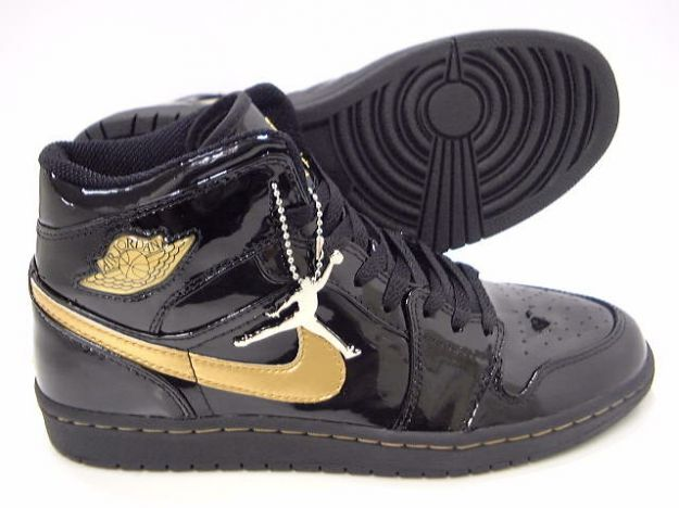 air jordan black gold