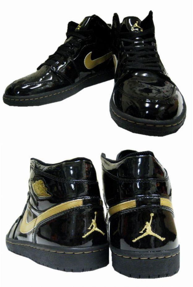 Air Jordan 1 Black And Gold 2003