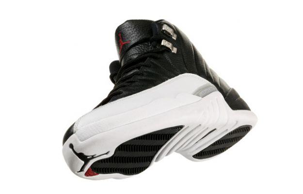 popular air jordan 12 retro playoffs black white shoesRetro 12 Jordans Playoffs
