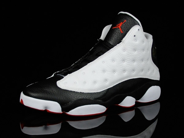Mens Air Jordan Retro 13 White shoes