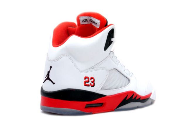 air jordans red and white