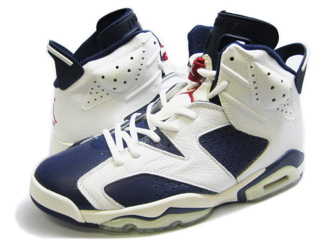 pretty nice 3a736 25056 Mens Air Jordan 6 Retro Bulls White Blue shoes