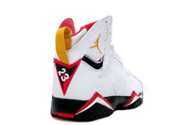 fec6b653ab37e4 Air Jordan 7 Retro Cardinals White Black Red Bronze shoes