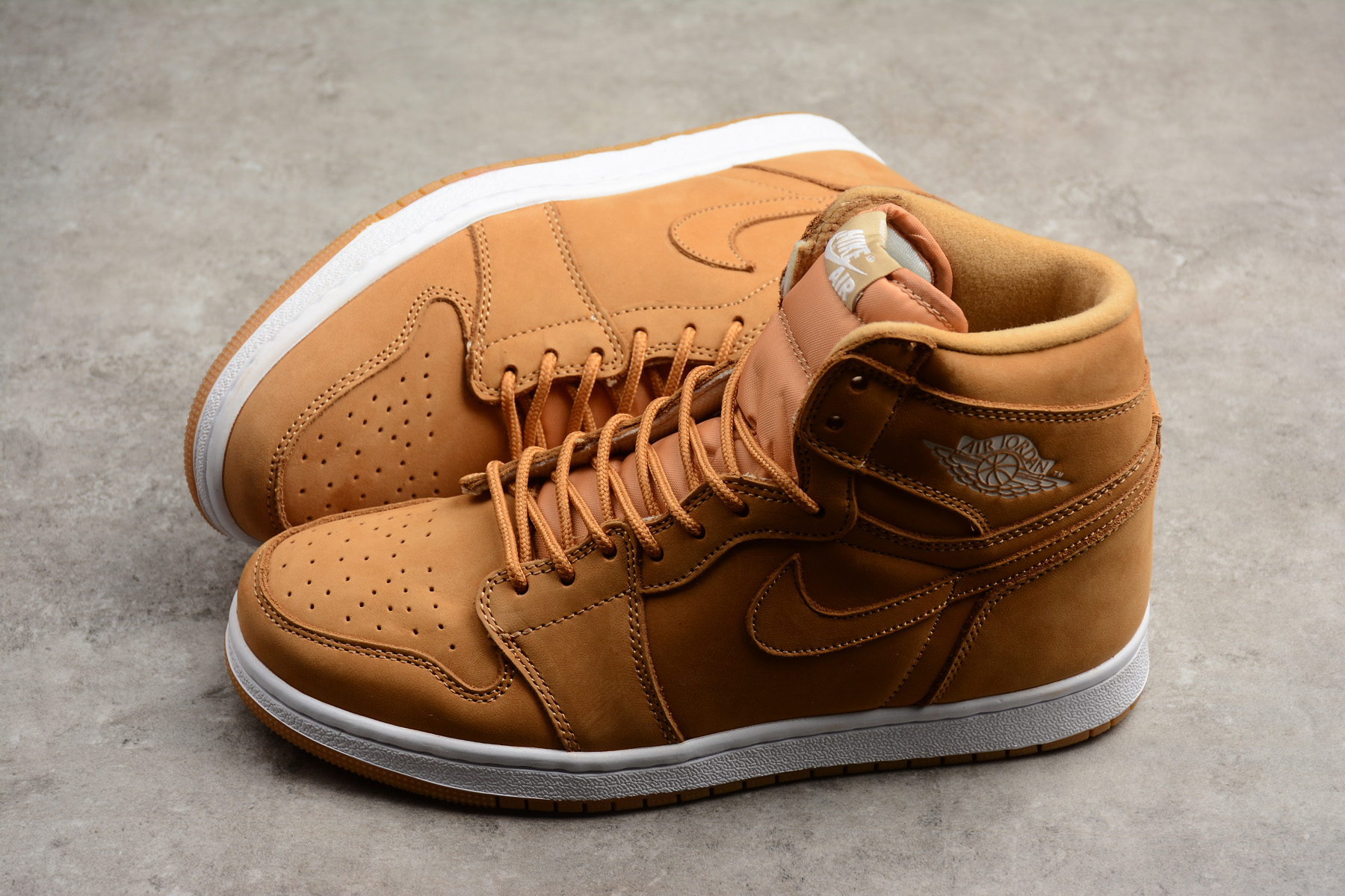 new air jordan 1 retro high og wheat